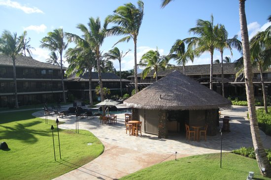 Koa Kea Hotel & Resort: Pool and outdoor bar