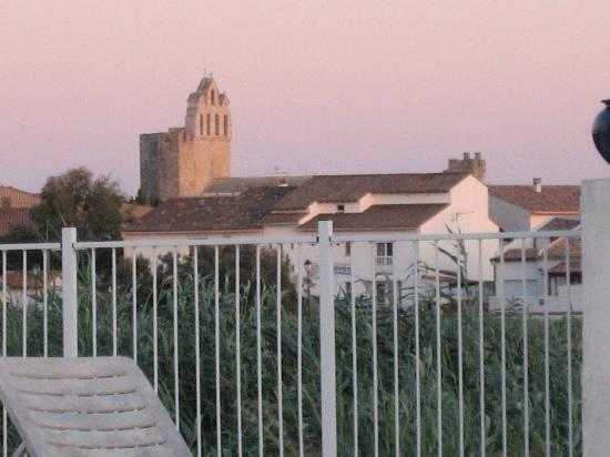 Le Maset: Blick vom Hotel auf die Stadt