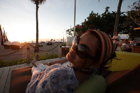 Holiday Inn Resort Baruna Bali: Setting the mood for sunset