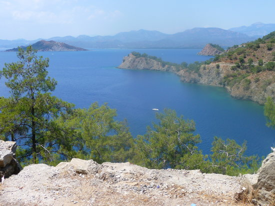 looking towards Fethiye