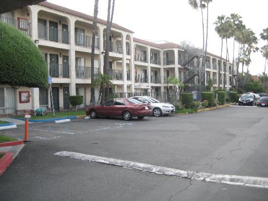 Glendale, Californië: I parked right outside the room.