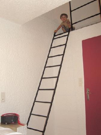 Hotel du Tigre : Don't fall off the ladder