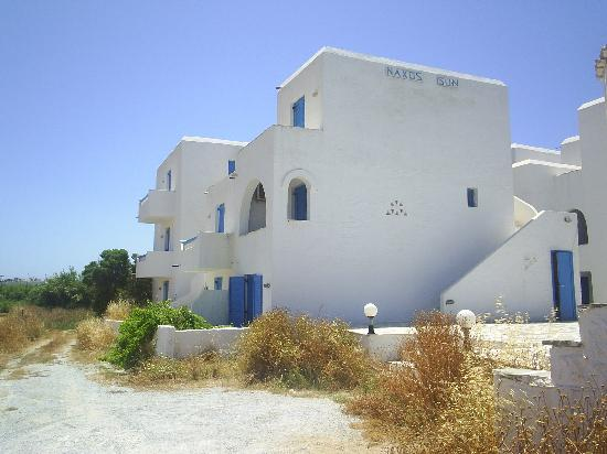Naxos Sun Studios: The abandoned and dilapidated building and grounds