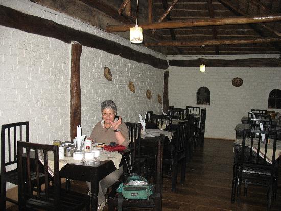 Chimps' Nest: Dining Lanai
