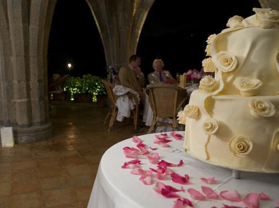 Villa Cimbrone Hotel : the cake!