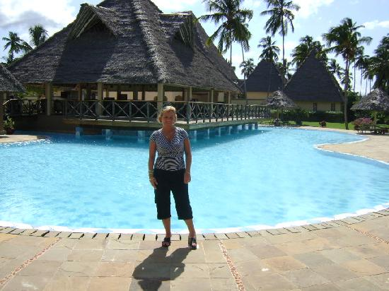 Neptune Pwani Beach Resort & Spa: Main Pool Area