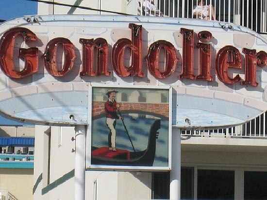 Gondolier Motel: I know what you're thinking...the answer is yes! Gond is the new sexy!!!<333