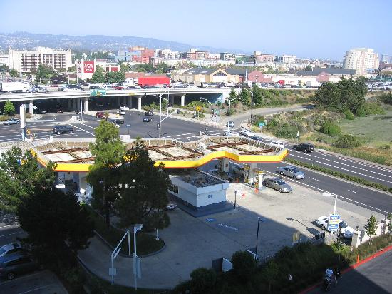 Amazing Hilton Garden Inn San Francisco/Oakland Bay Bridge: View Of Gas Station And  Highway