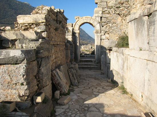 Kuşadası, Türkei: Ephesus Ruins, Kusadasi, Turkey