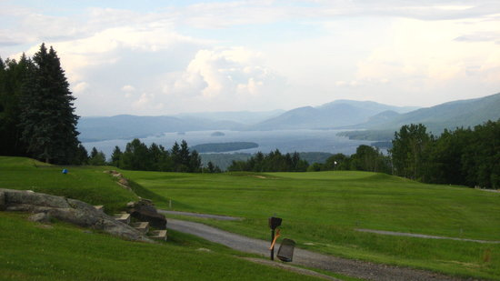 Lake George, NY: 10th Hole and View