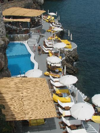 Santa Caterina Hotel: pool view