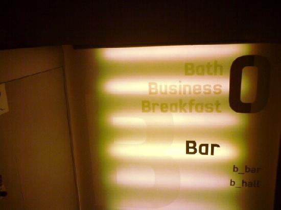 B-Hotel: Innendesign