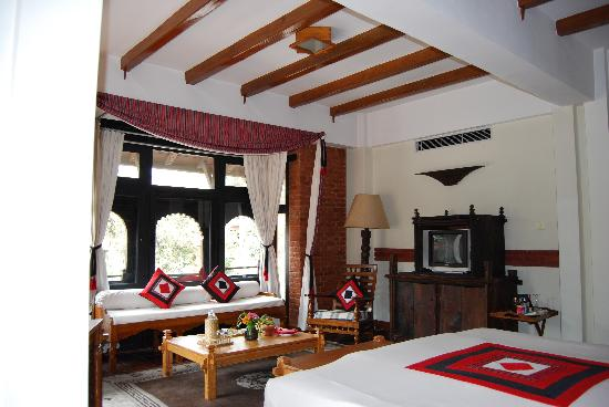 Dwarika's Hotel: Our Room