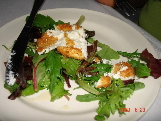 Brasserie Zapp: Where's the salad?  Goat Cheese Salad