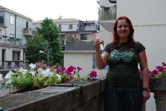 هوتل فيلا ألبرتينا: lovely balcony all to ourselves