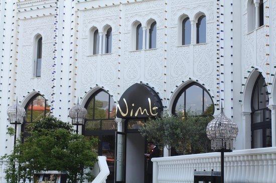 Nimb Hotel: Tivoli Entrance