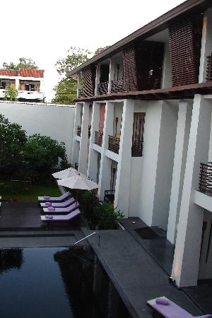 U Chiang Mai: Courtyard of Hotel