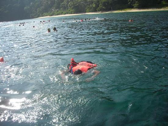 Kapas Island Resort: At one of the snorkeling spot