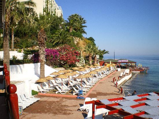Marti Beach Hotel: vue des terrasses