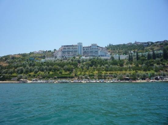 Labranda Ephesus Princess: Hotel from pedalo