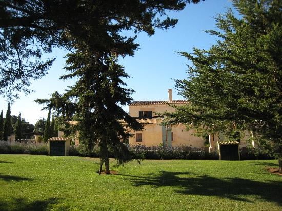 Арта, Испания: Blick vom Pool auf das Hotel
