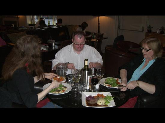 The Bothy: Our table