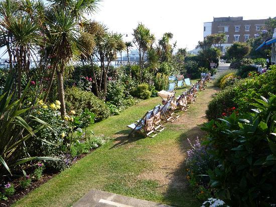 The Ocean Hotel: Hotel Garden