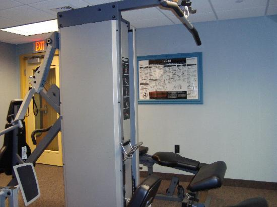 Port-O-Call Hotel: Gym at the hotel