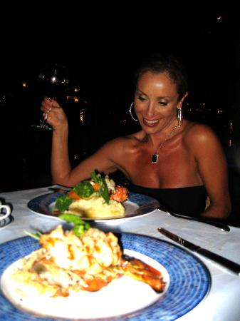 Secrets Maroma Beach Riviera Cancun: lobster dinner