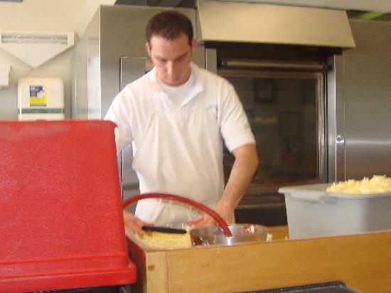 Manco & Manco Pizza: Always busy making pies