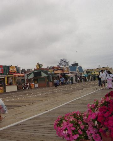 Manco & Manco Pizza: A bit of the view on the Ocean City Boardwalk
