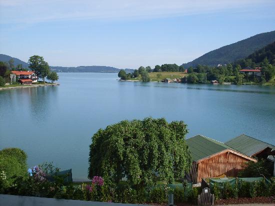 Rottach-Egern, ألمانيا: Blick vom Balkon