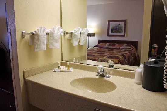 Comfort Inn & Suites: Room 407 Vanity