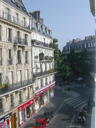 Avalon Hotel Paris: view from room 2