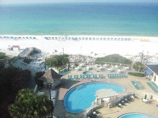 TOPS'L Beach & Racquet Resort: View from room (702)