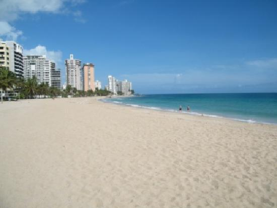 San Juan Puerto Rico Condado Beach One Block From Apartment