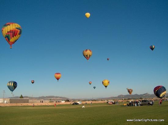 Cedar City SkyFest Hot Air Balloon Festival