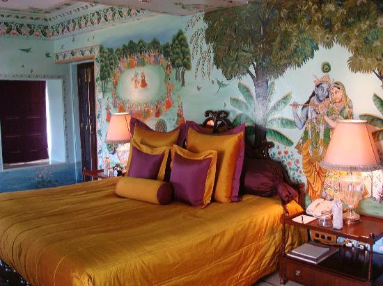Taj Lake Palace Udaipur: una habitación