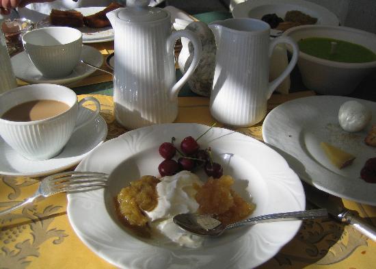 Hotel Taillard : Terrace breakfast