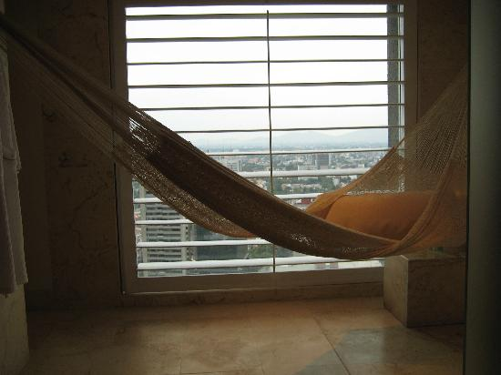 W Mexico City : Hammock in the shower