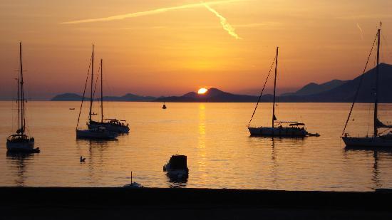 Villa Andro: sunset