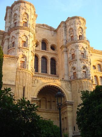 Hotel Carlos V: Malaga Cathedral.