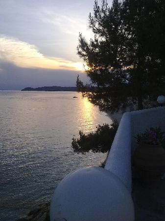 Alexandra Beach Thassos Spa Resort: Stunning sun set