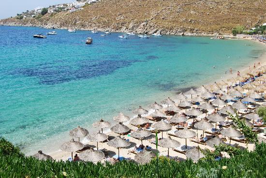 Psarou - spiaggia hotel