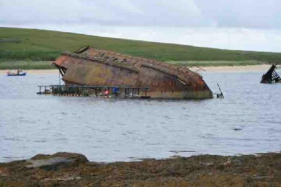 Westrow Lodge B & B: Scapa Flow Wreck