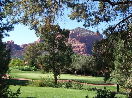 Ridge on Sedona Golf Resort : View from the room