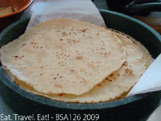 Los Gueros Mexican Restaurant: Corn Tortillas (freshly made)