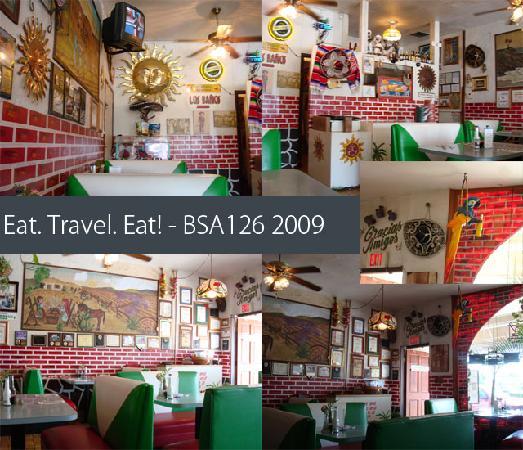 Los Gueros Mexican Restaurant : Interior