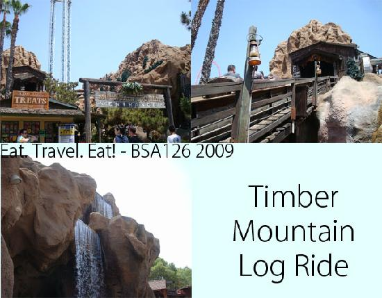 Knott's Berry Farm: Timber Mountain Log Ride