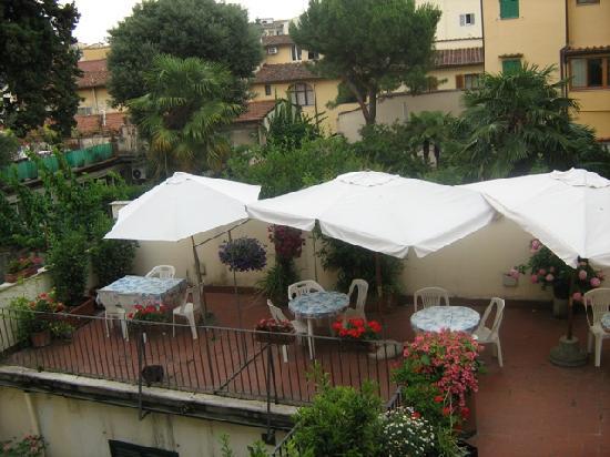 Hotel Monica: terrace